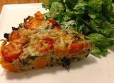 Quinoa Gratin by Eating with a Purpose- full of veggies and a healthy serving of protein