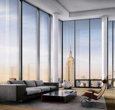 New York Apartment Dream Nyc Luxury City View