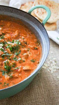 Tikka masala zoals in India - Little Spoon - Food Healthy Slow Cooker, Quick Healthy Meals, Healthy Crockpot Recipes, Dinner Healthy, Healthy Chef, Tika Massala, Indian Food Recipes, Asian Recipes, Xmas Recipes