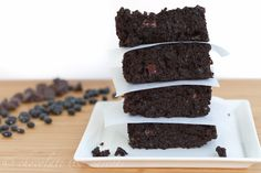 black bean brownies...apparently you won't even taste them or know the difference in these flourless treats!