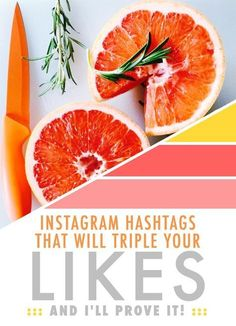 Instagram hashtags for bloggers that will triple the likes you are getting on your photos!