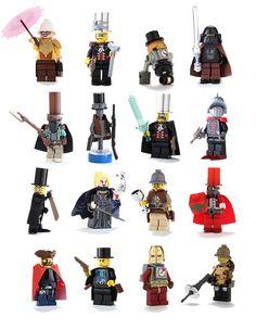 Steampunk LEGO Minifigs