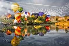 Meet balloons__Italy by Giuseppe Peppoloni on 500px