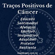 Traços Positivos de Câncer