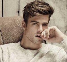 New hair styles mens quiff ideas Mens Hairstyles 2014, Cool Hairstyles For Men, Hairstyles Haircuts, Haircuts For Men, Fashion Hairstyles, Short Hair Cuts, Short Hair Styles, Handsome Faces, Popular Haircuts