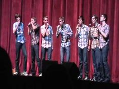 A Capella Group singing Disney Medley -- this is great!! so funny!
