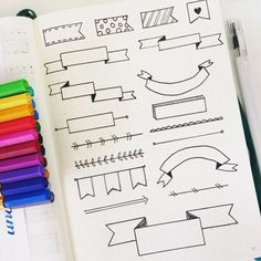 Great ideas of how to decorate your planner!