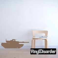 Vinyl Disorder decals are a great way to add a stylistic touch to almost any surface! Car Decals, Vinyl Wall Decals, Super Tank, Room Planning, Small Spaces, Military Tank, How To Plan, Modern, Furniture