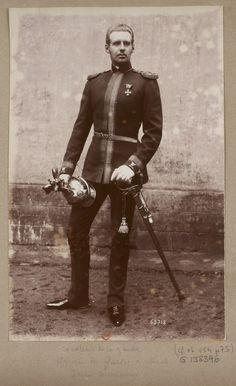 Officer of the Russian Imperial Chevalier Life Guards.