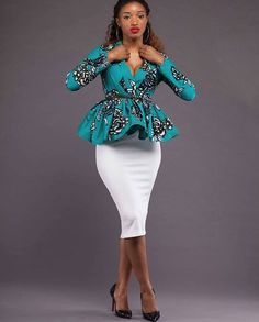 Stylish Ankara Styles For Ladies - Naija Info African Fashion Ankara, African Inspired Fashion, Latest African Fashion Dresses, African Dresses For Women, African Print Dresses, African Print Fashion, Africa Fashion, African Attire, African Wear