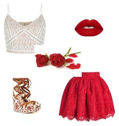 """""""Untitled #15"""" by esefa-husarkic ❤ liked on Polyvore featuring New Look and Lime Crime"""