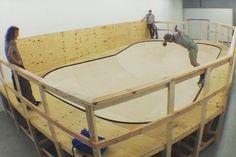 skate bowl for Rockaway!