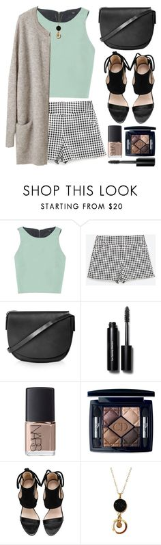 """""""Simple but cute"""" by gabygirafe ❤ liked on Polyvore featuring TIBI, Zara, Topshop, Bobbi Brown Cosmetics, NARS Cosmetics, Christian Dior, women's clothing, women, female and woman"""