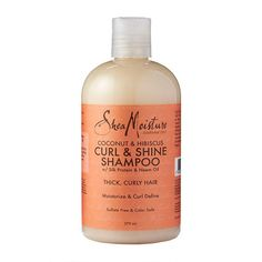 Shampoo For Curly Hair, Thick Curly Hair, Curly Hair Styles, Natural Hair Styles, Curly Girl, Curly Hair Products, Wavy Hair, Curl Enhancing Smoothie, Raw Shea Butter