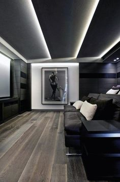 From rustic leather to modern fabrics, discover the top 70 best home theater seating ideas. Explore movie room furniture layouts and designs. Best Home Theater, Home Theater Setup, At Home Movie Theater, Home Theater Rooms, Home Theater Seating, Home Theater Design, Cinema Room, Simple Ceiling Design, False Ceiling Design