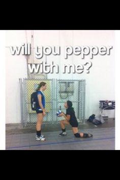 Volleyball probs. #relationshipgoals