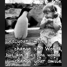 Smile! #penguin #smile #love #laugh