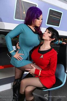 Star Trek cosplay | Star Trek cosplay by Yaya Han Riddle's Messy Wardrobe