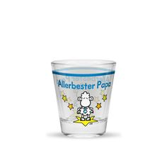 Mehr Spaß im Glas ist mit dem witzigen Schnapsglas »Allerbester Papa« garantiert. Die lustige Botschaft heizt die Partystimmung an und liefert immer einen Grund zum Anstoßen. Die Schnapsgläser mit den coolen Sprüchen eignen sich besonders gut zum Sammeln und Verschenken.