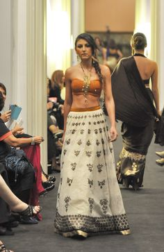 Love the skirt  Strand of Silk Palermo Fashion Events
