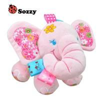 V Convey Music Bed Time Elephant Stuffed Animal Toys Kids Toddler Plush Baby Inf. V Convey Music Bed Time Elephant Stuffed Animal Toys Kids Toddler Plush Baby Infant Strollers Crib Toddler Toys, Kids Toys, Pet Toys, Baby Toys, Elephant Bedding, Pink Elephant, Elephant Nursery, Elephant Stuffed Animal, The Embrace