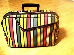 Good Old Vintage A.D. Sutton & Sons Suitcase by ThriftAppeal, $17.99
