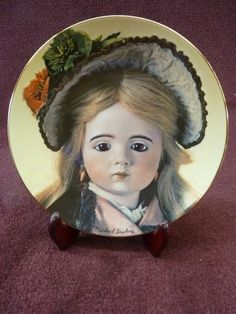 Mildred Seeley Collectors Plate French Dolls II, Albert Marque's Alyce (lp106)