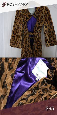 Coat Soft velvety Beth Bowley Jackets & Coats