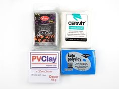 Sometimes called Sculpey or Sculpty, these are other, less common brands of polymer clay.