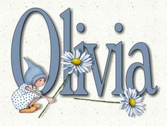 Custom NAME Art Gnome Girl with Daisies by ToadstoolPrintables