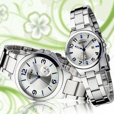 Lover Fashion Dress  EYKI Brand Stainless Steel Wristwatch  Best Xmas Brithday Gift Gift Box Package 8529 on AliExpress.com. $30.00