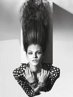 Vittoria Ceretti by Mario Sorrenti for Vogue Paris - Page 2 | The Fashionography