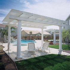 Let's fall in love with this beauteous pergola design shown here for the reshaping of your patio. And when the patio is renovated with pergola, don't forget to create a thought-provoking idea for the hot tub and swimming pool designing near it. This fantastic combination will lead the beauty of the project toward the outstanding one.