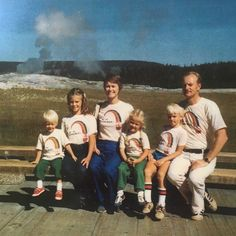 #nationalsiblingday is literally my favorite day on Instagram!Pictured: my family at Yellowstone circa 1980 (I'm maybe in utero here? Mom is that true?). Please note the matching go-od chicken KFC shirts. Don't be jealous that your grandpa wasn't BFF with the colonel. I cannot get enough of this picture. It's my heritage- from the t-shirts to the location- and it's all the love that was awaiting me and has given me the most amazing support and love for all my life.