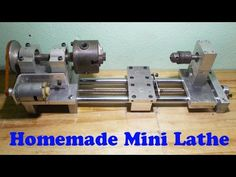 DIY Wood Mini Lathe Metal Axis Homemade Tailstock with Motor Drill  http://www.instructables.com/id/DIY-Wood-Mini-Lathe-Metal-Axis-Homemade-Tailstock-/  #DIYlathe #makeitprojects