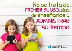 Cómo evitar que el uso de la tecnología afecte a tus hijos