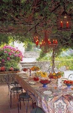 Splenderosa: Al Fresco Dining, Provence Style