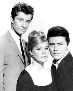 George Chakiris, James Darren, and Yvette Mimieux in Diamond Head (1962)