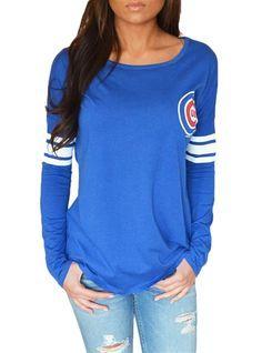 Chicago Cubs Womens Spirit Jersey