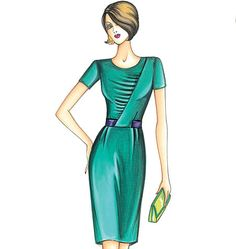 F3779 | Marfy Dress | New Designs | Vogue Patterns