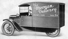 Delivery Van (ca. 1929)  Built 1928-1935.  The Delivery Van was built on a standard chassis and was said to have a load capacity of up to 3 CWT. Only few were sold around 1930.