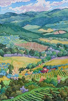 Panzano - Watercolor