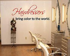hairdressers bring color to the world