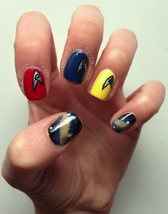 Live long and prosper with these Star Trek-inspired nails.