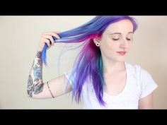 """Cosmic"" Hair Is What She's After - The Result At 5:18 Is Out Of This World! - GoingViralPosts"