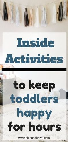 Fun indoor activities for toddlers to keep them busy at home. Inside activities for kids to keep them moving, playing, and ideas for what to do with toddlers at home activities for 2 year olds 24 Easy Indoor Activities for Toddlers – Activities To Do With Toddlers, 4 Year Old Activities, Nanny Activities, Indoor Activities For Kids, Infant Activities, Toddler Home Activities, Indoor Play For Toddlers, Learning Activities, Babysitting Activities