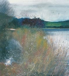 On the theme of water, Jackson is one of my favourite painters of this subject. He has a really comprehensive website here Landscape Artwork, Contemporary Landscape, Watercolor Landscape, Abstract Landscape, Abstract Art, Watercolour, Kurt Jackson, Historia Natural, Art Abstrait