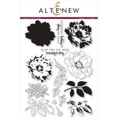 Altenew - Beautiful Day stamp set - CraftStash