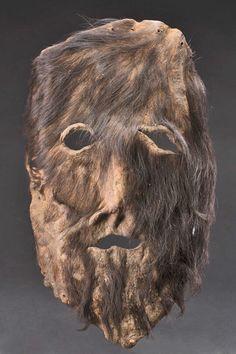 Hairy leather mask – Masks of the World