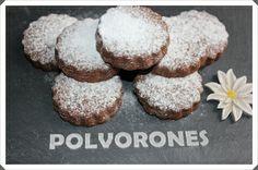 SWEET AND SALTY: ¡¡ESTRENANDO MI REGALO CON POLVORONES DE CHOCOLATE!!